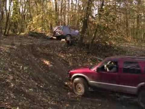 Blazer On 33s And Cherokee Wheelin Mayhem Youtube
