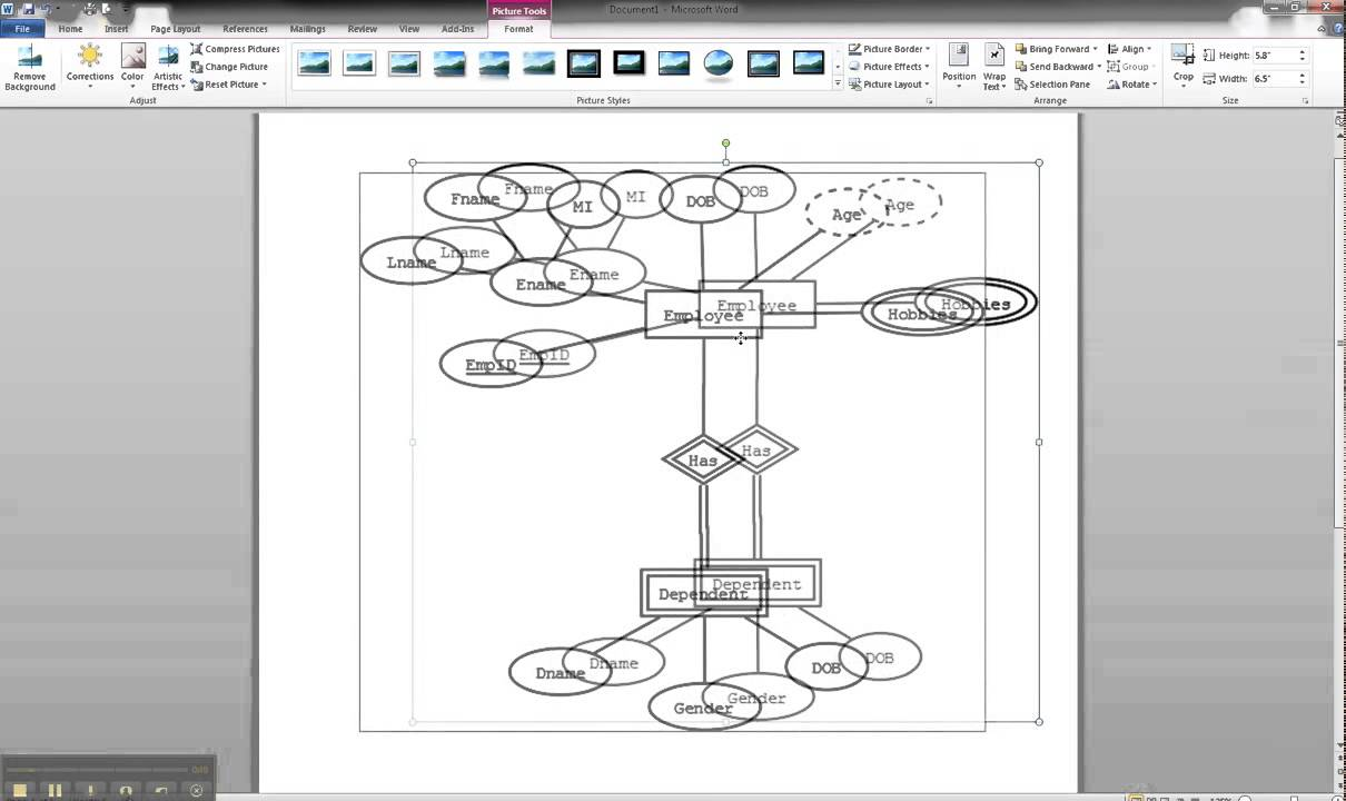 Er Diagrams In Dia Part 13