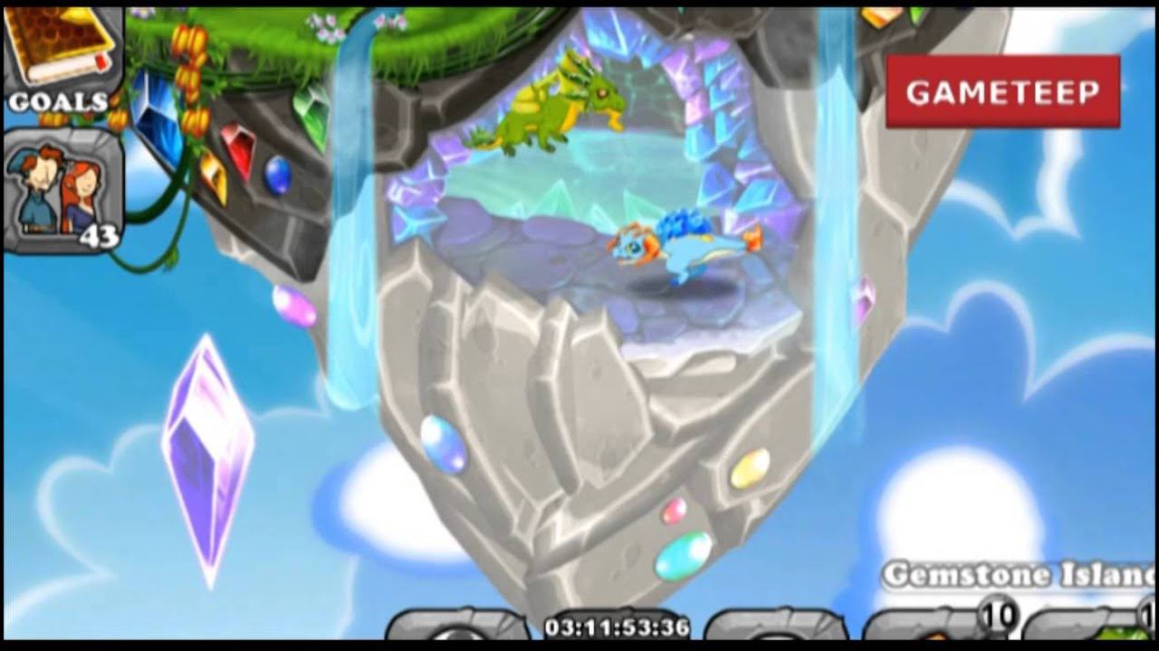 How To Breed Topaz Dragon 100 Real Dragonvale Youtube