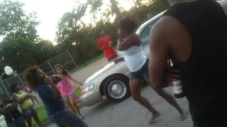 Jacksonville tx hood fight