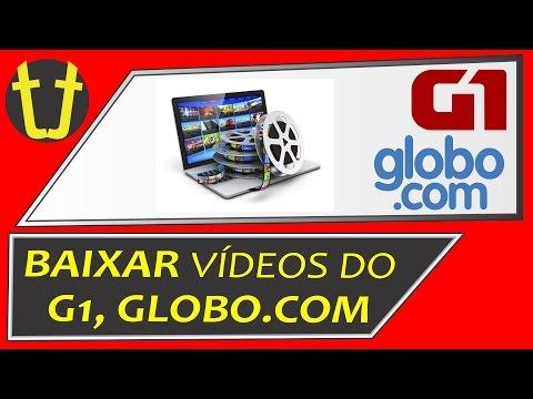 Como baixar vídeos do G1, GLOBO.COM e outros (SEM PROGRAMA)