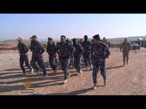 Iraqi army prepares for assault on Mosul