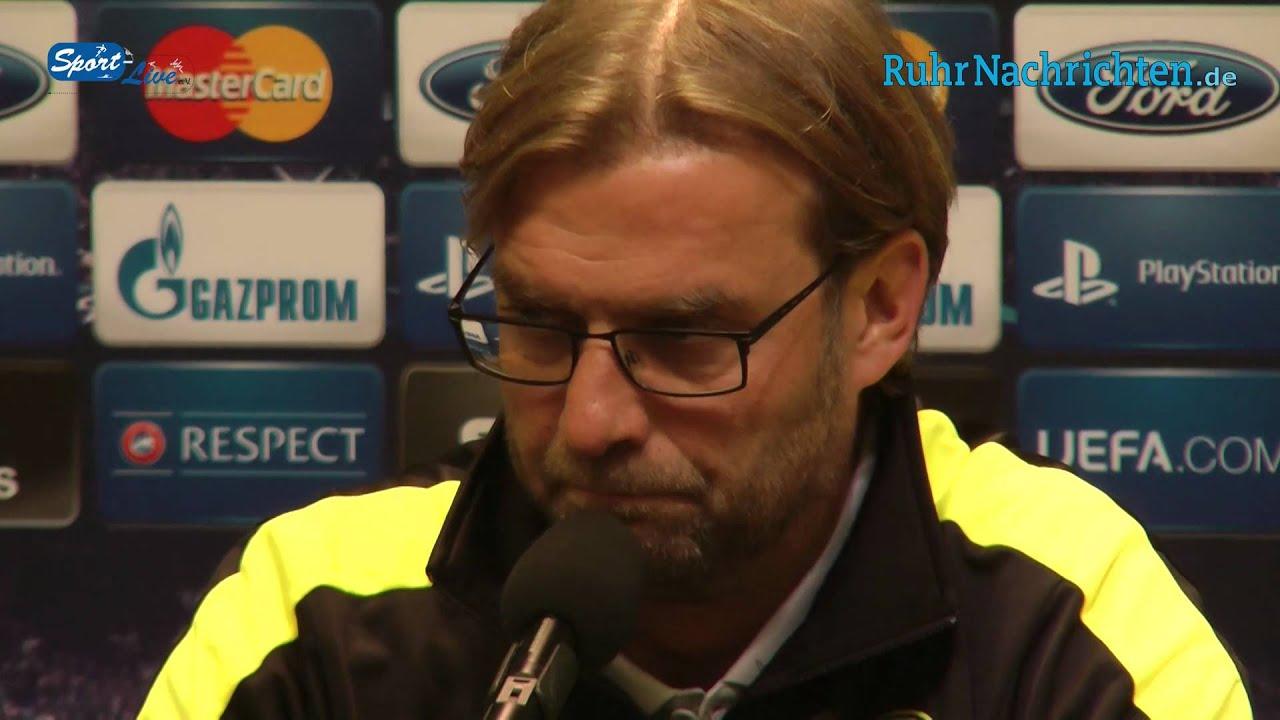 BVB Pressekonferenz vor dem 1. Championsleague-Gruppenspiel gegen Ajax Amsterdam