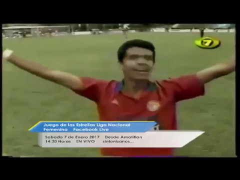 Xelaju Campeon 1995-96 Gol de Oro Crisanto (Fernando Curutchet / Stereo 100  Quetzaltenango)