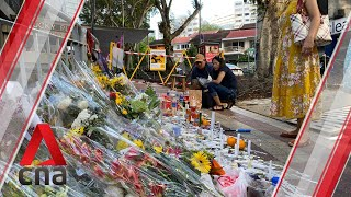 One week after fatal Lucky Plaza accident, many come to pay respects