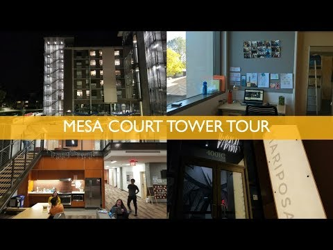 UCI Mesa Court Towers Tour