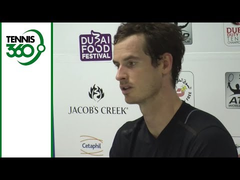 Andy Murray reacts to Nick Kyrgios
