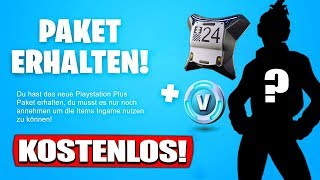 GET FREE Playstation Plus Pack 6 Skin! | SO GEHTS! - Fortnite Battle Royale German