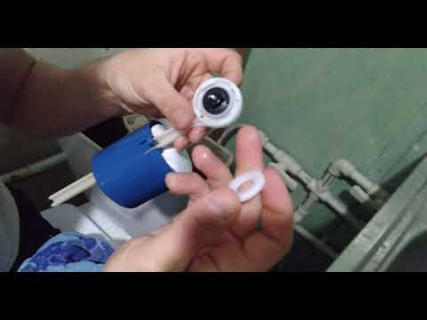 Ремонт клапана заполнения воды бачка унитаза