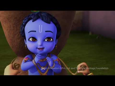 Little Krishna Tamil   Episode 12 Trinavarta   YouTube 360p