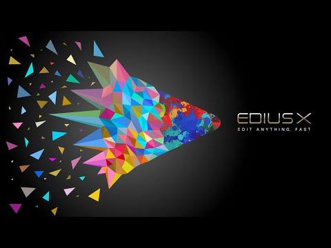 EDIUS X Trailer – EDIUS 10 Release in September 2020