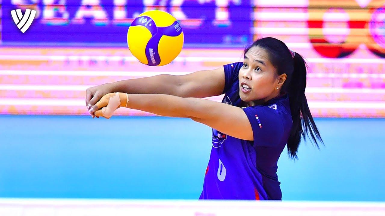 Onuma Sittirak's อรอุมา สิทธิรักษ์ BEST ACTIONS! | OQT 2019 | Highlights Volleyball World