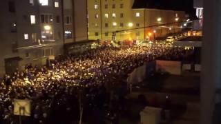 Schalke Fans in Salzburg 08/12/2016