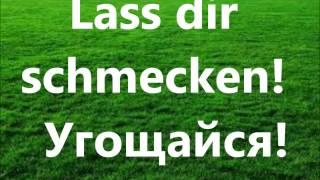 Основные фразы.Немецкий разговорный.Аудио. А немцы говорят так...Урок 5