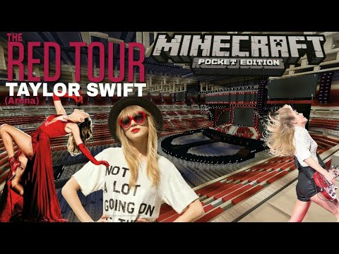 Taylor Swift - The Red Tour (Minecraft)