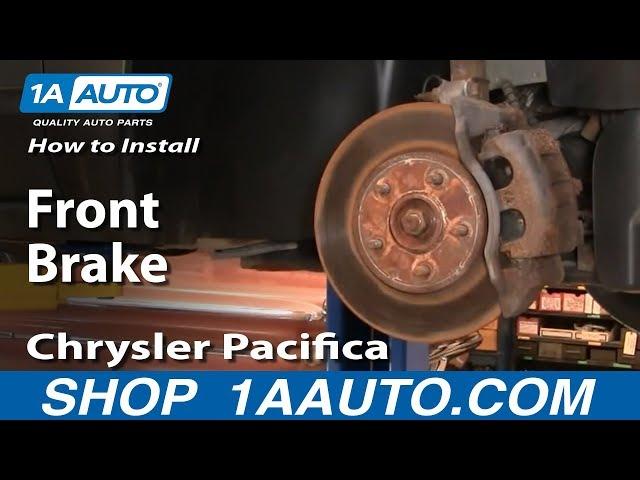 Rotors w//Metallic Pad OE Brakes 2004 05 06 07 2008 Pacifica Front + Rear