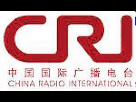 China Radio Int. on 13640khz shortwave at 1500 06 Aug 2015