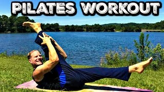 Pilates Abs - 12 Minute Workout - 30 Day Pilates Challenge