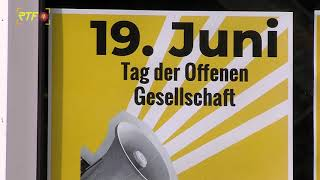 Stadtbibliothek zeigt Posterausstellung zum Tag der Offenen Gesellschaft