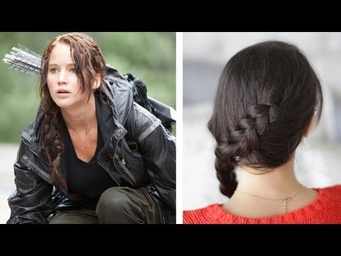How to: Katniss Everdeen Braid – Dutch Braid