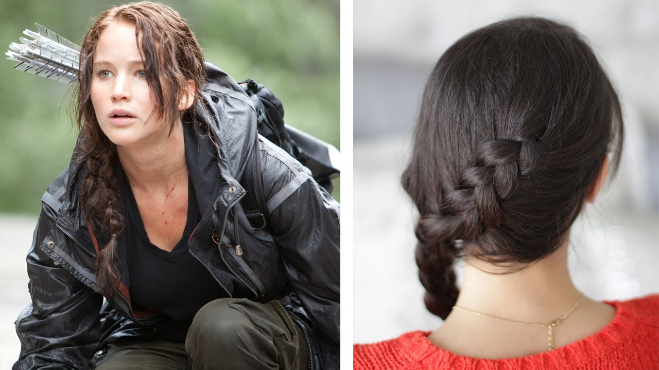 how to: katniss everdeen braid - dutch braid
