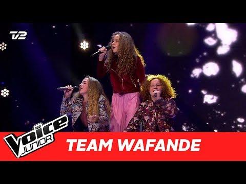 """Solveig, Astrid, Mathilde (Team Waf)   """"Monster"""" af Jacob Banks   Super Battle   Voice Junior 2017"""