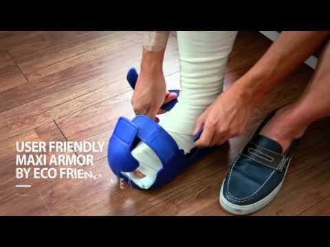 MAXI ARMOR Toe guard cast shoes