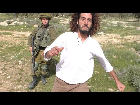 Israeli Settlers Attack Palestinian Residents, South Hebron Hills, 28 March 2020