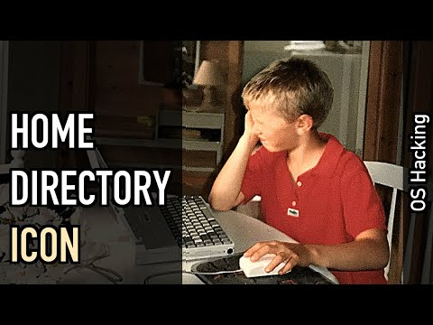 OS hacking: A special icon for the home directory