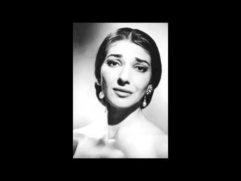 """Maria Callas singt   """"Si, mi chiamano mimi""""   La Bohème (Puccini) --  Tullio Serafin"""