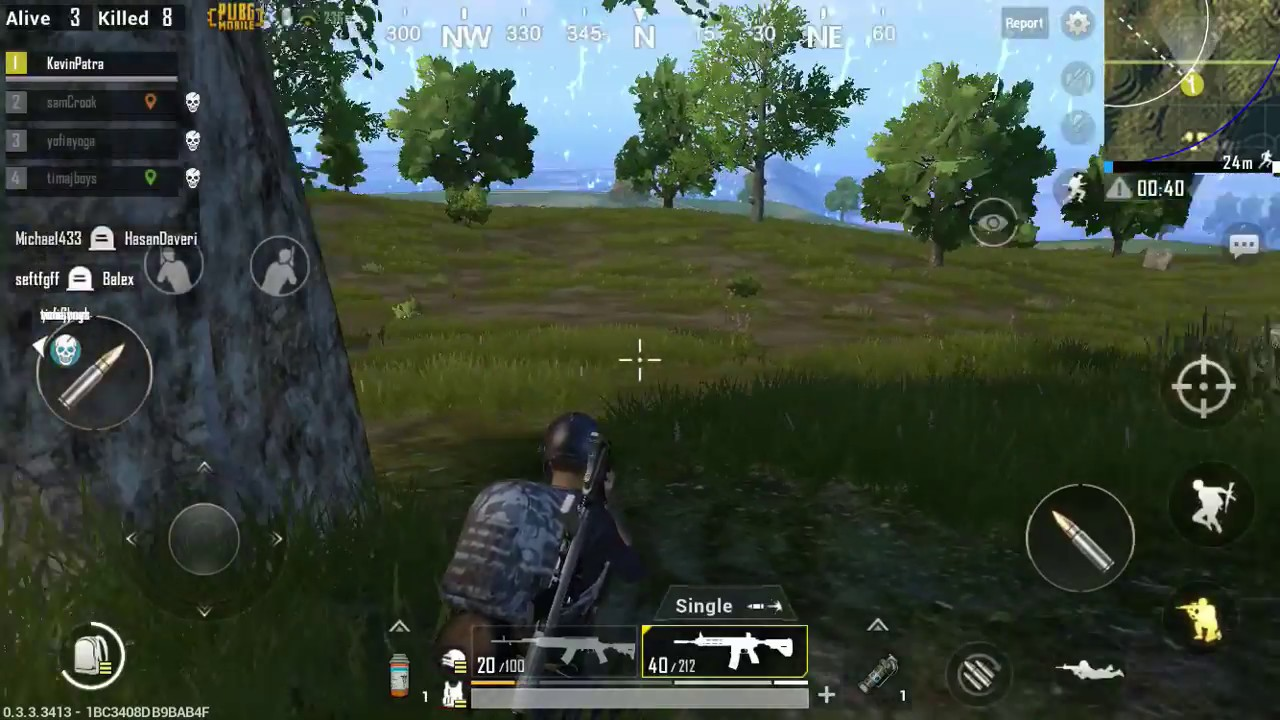 Unlimited Ammo : ON - PUBG MOBILE