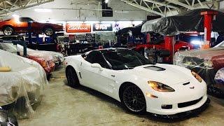 "Projeto #12: Chevy Corvette ZR1 Cammed/NOS '12 - The ""DesertEagle""."