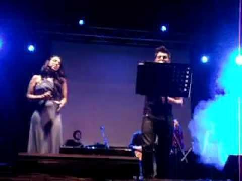 Lya & Diego Martín - Homenaje A.Sanz (Toca para mí)