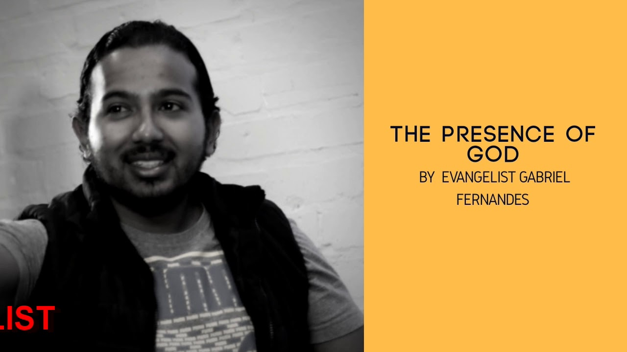 THE PRESENCE OF GOD, Daily Promise and Powerful Prayer with Ev. Gabriel Fernandes