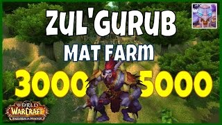 Best WoW Cataclysm Mats Gold Farming Spot 3000 to 5000 Gold Per Hour WoD