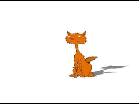 Toon Boom Animation Test - Cat Scared Run