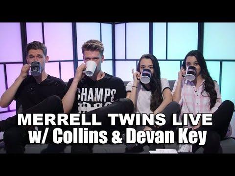 MERRELL TWINS LIVE feat. Collins & Devan Key