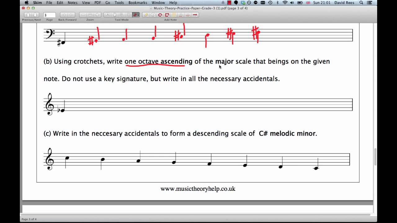 Image Result For Music Theory For Grade