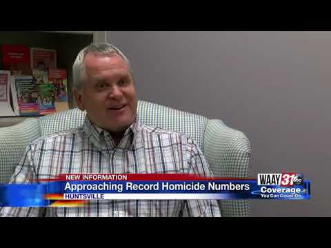 Huntsville Crime Increases