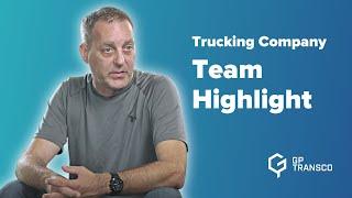 Team Highlight: Adam Kanoski | Fleet Manager | GP Transco