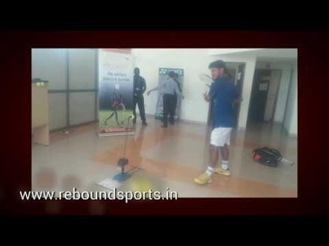 rebound Tennis Trainer, your best practice partner