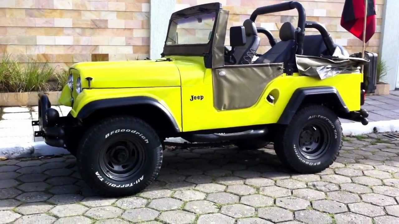 Jeep Willys For Sale >> JeeP willys 1970 (HD) - YouTube