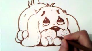 Как нарисовать собаку милый(Подписаться Вот: http://goo.gl/o963dE Как нарисовать собаку милый., 2015-10-24T20:09:47.000Z)