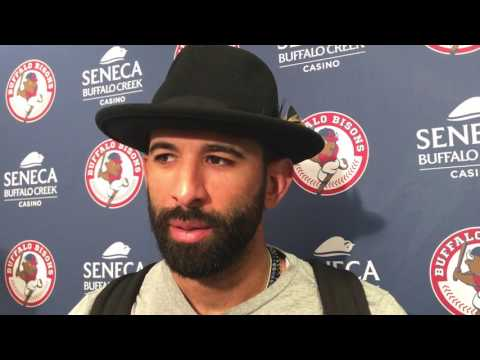 Jose Bautista Talks About His Rehab Assignment In Buffalo