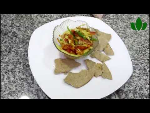 How to make OAT CRACKERS & VEGGIES SAUCE from scratch || Natural Nigerian Recipe