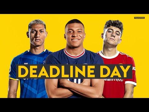 TRANSFER DEADLINE DAY LIVE! ⏰| Latest on Mbappe, Ronaldo, Griezmann, James & Kounde 📝