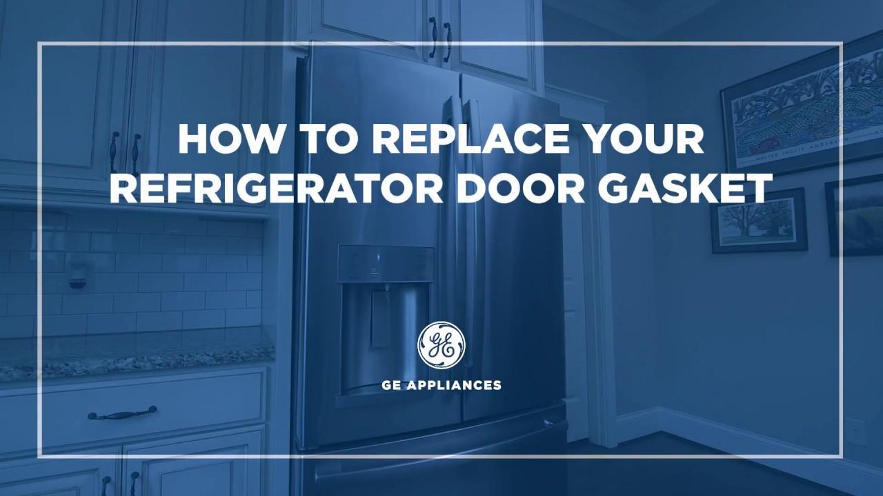 WR14X10377   GE Appliances French Door Refrigerator Gasket Installation    Fresh Food Door