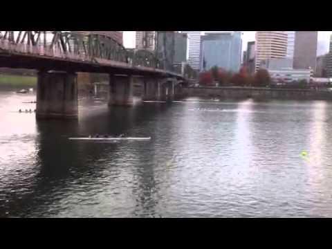 Salem Rowing Club - WN4+ Portland Fall Classic 2013
