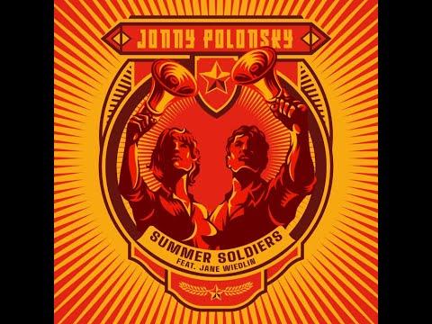 Jonny Polonsky - Summer Soldiers lyric video (feat. Jane Wiedlin)