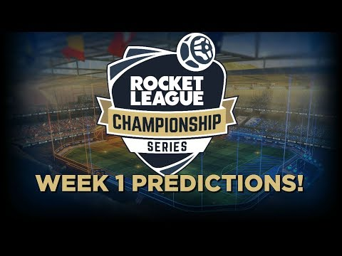 GIBBS' RLCS WEEK 1 PREDICTIONS!